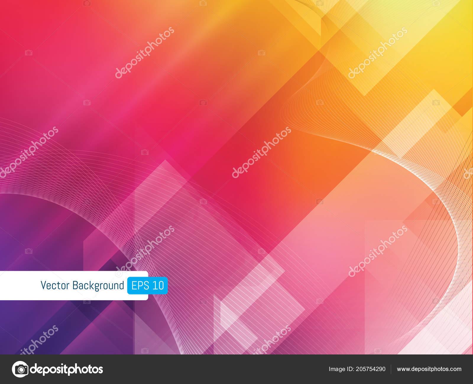 Desenfoque Fondo Abstracto Colores Degradado Color