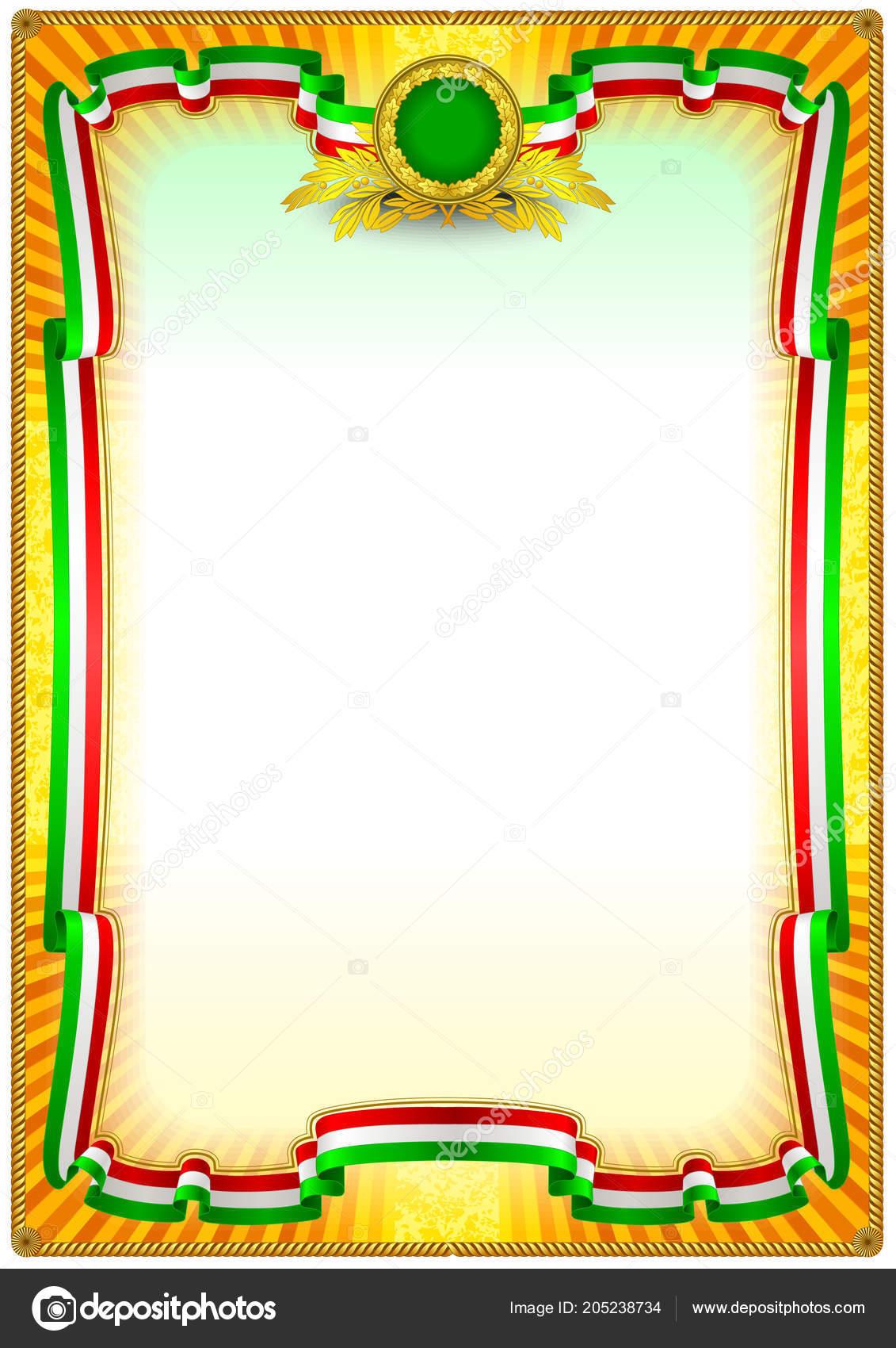 frame border template can use print design cetificate diplomas