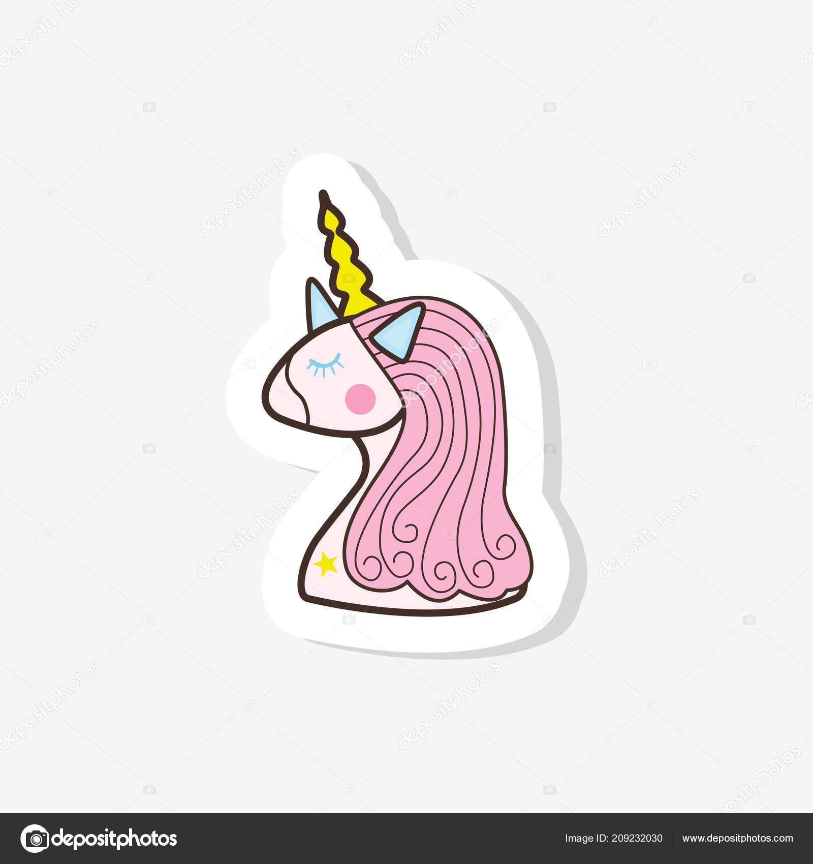 Illustrazione Unicorno Disegno Bambini Illustrazioni Sveglie