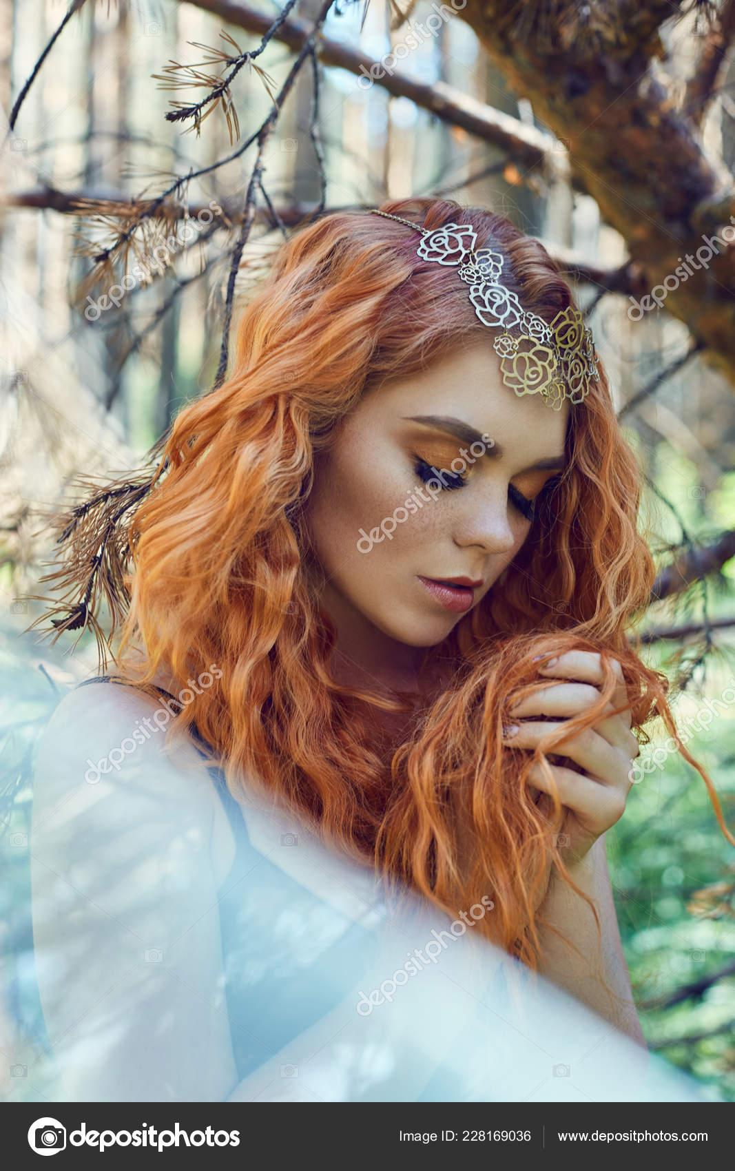 Photo of beautiful redhead