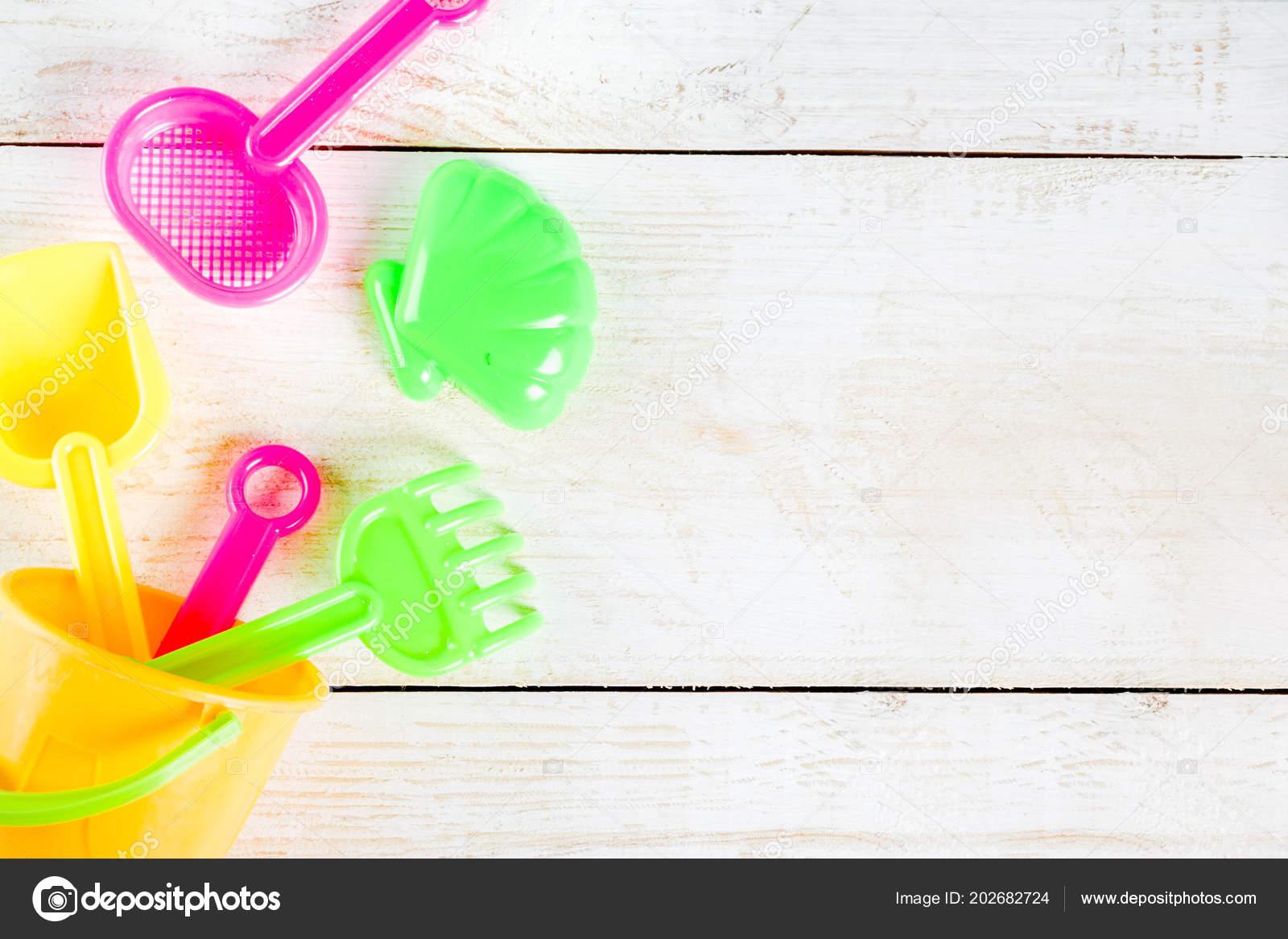 Los Juguetes Playa Verano Con Concepto Vacaciones Plástico Niños m8n0vNw