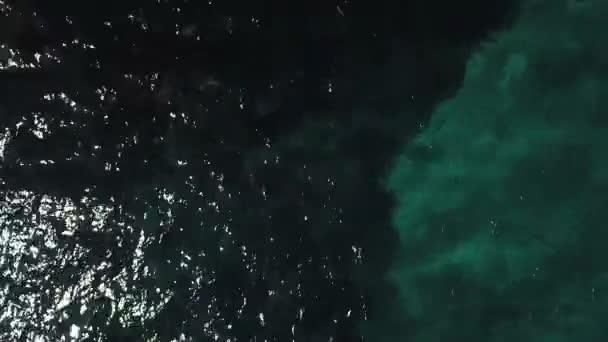 Letecký pohled na pláže zajat DRONY