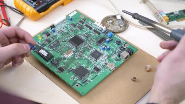 Számítógép mester Forrasztó elektromos kondenzátor zöld alaplap