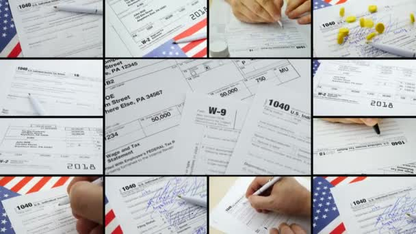 Formulare zur Einkommensteuererklärung