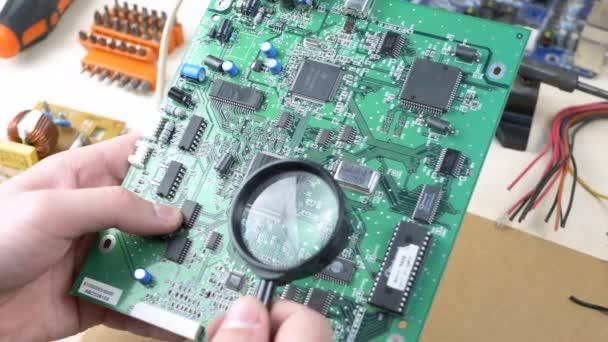 Számítógépes mérnök vizsgálata alaplap