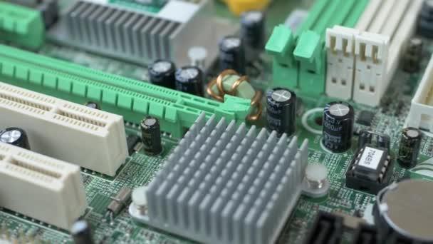 nyomtatott áramköri sok elektromos alkatrészek