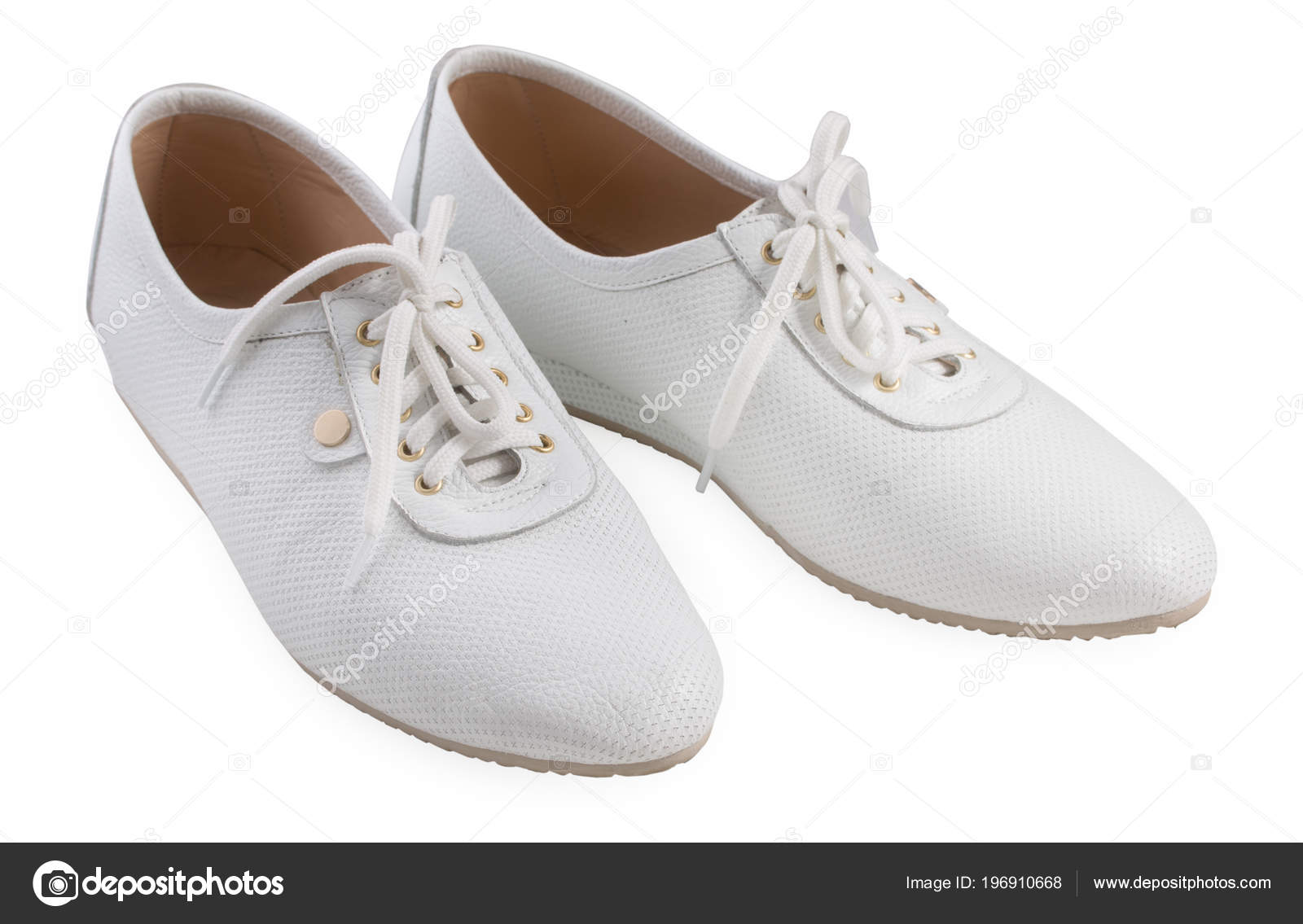 12df6d1258e Ζευγάρι γυναικεία αθλητικά παπούτσια απομονωθεί σε λευκό φόντο, εσωτερικη — Εικόνα  από 3249855.gmail.com| ...