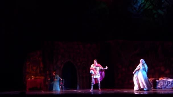 DNIPRO, UKRAINE - OCTOBER 21, 2018: Classical Opera