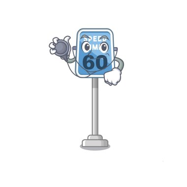 Doctor speed limit with the character shape