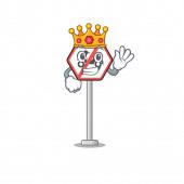 Král hračka žádné motocykly nad maskot stůl