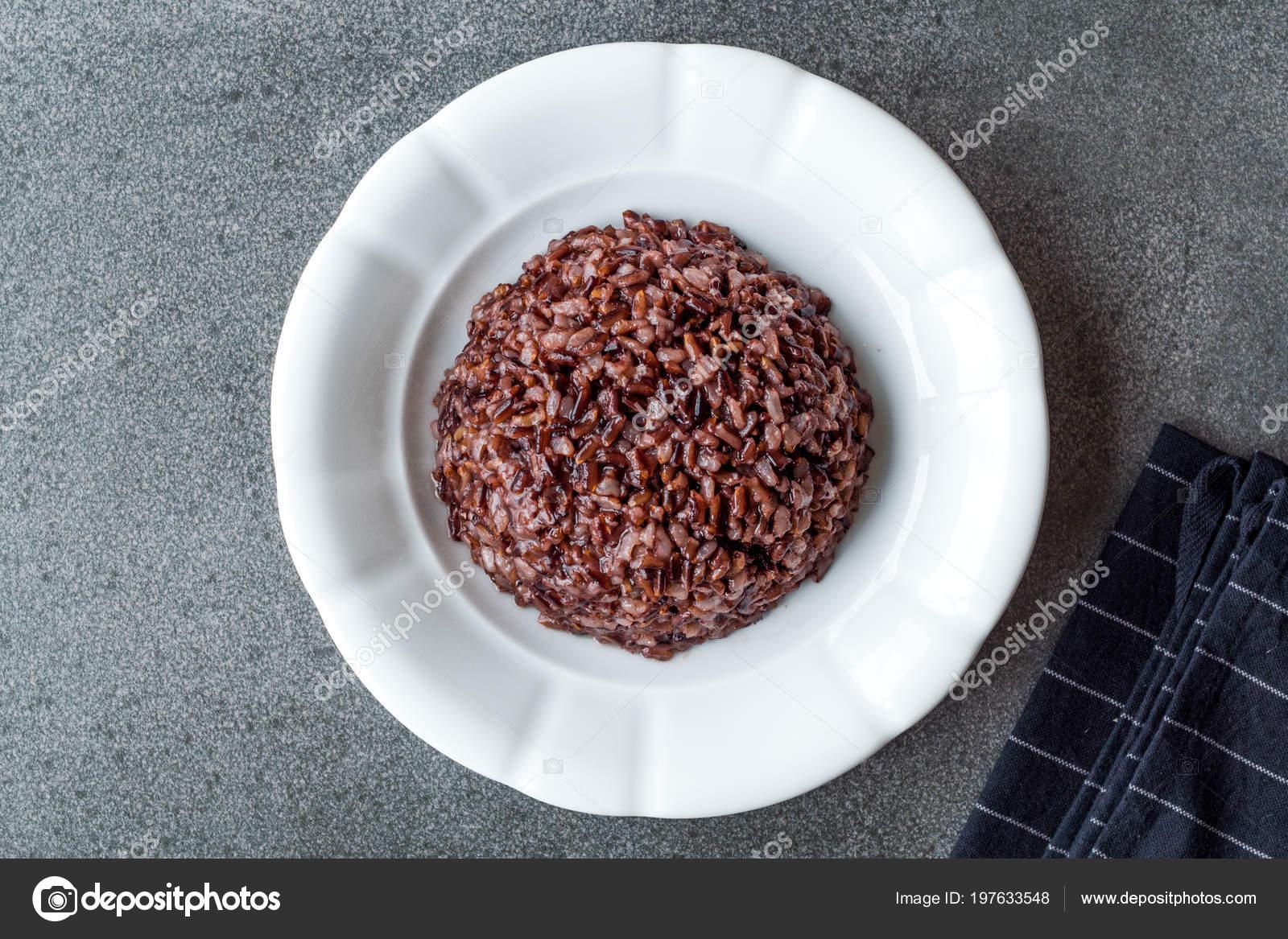 как сварить рис черный