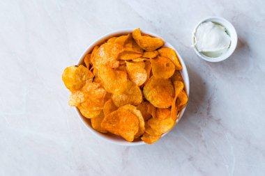 Homemade Organic Sweet Potato Fries / Yam Chips
