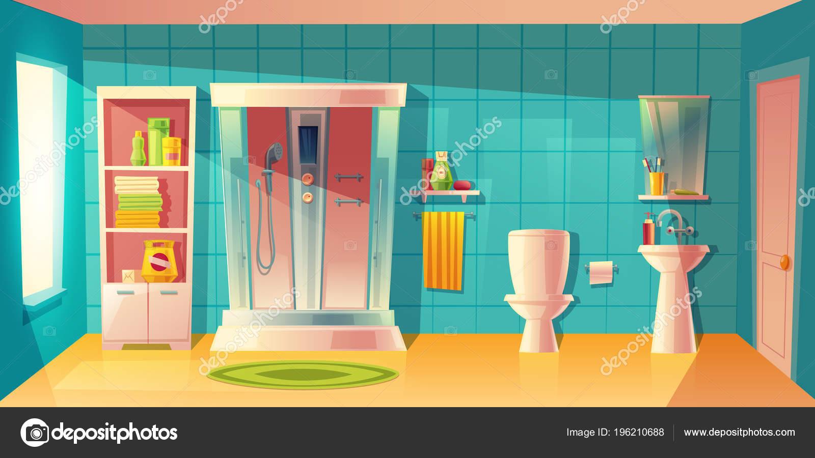 Diseño interior del dormitorio. ilustración vectorial ...