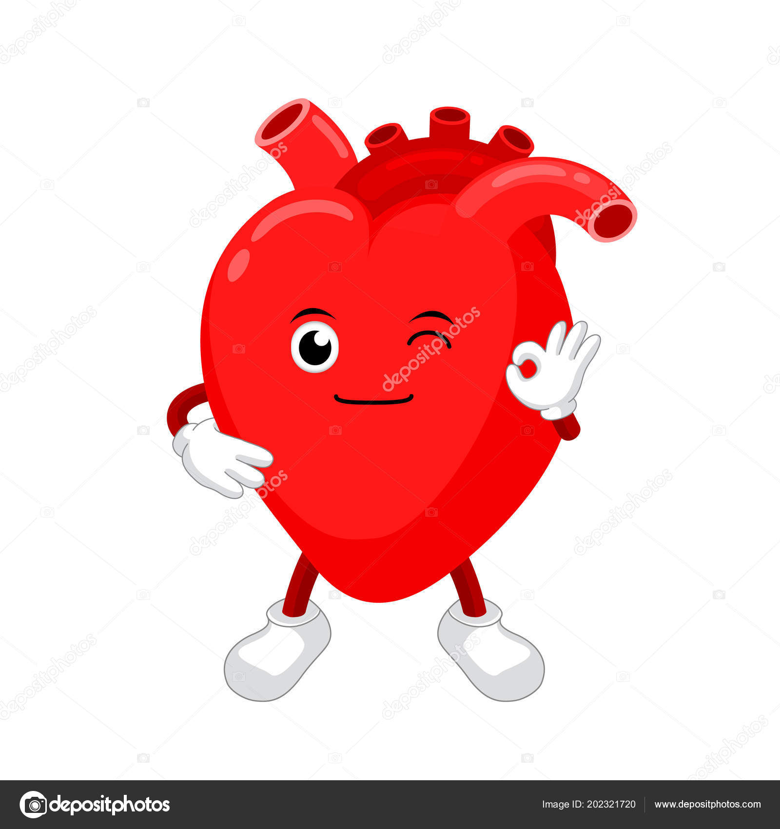 Cute funny smiling red heart character human internal organ mascot cute funny smiling red heart character human internal organ mascot vetores de stock ccuart Gallery