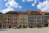Bautzen, Sachsen - 7. September 2020: Blick auf die historische Altstadt von Bautzen