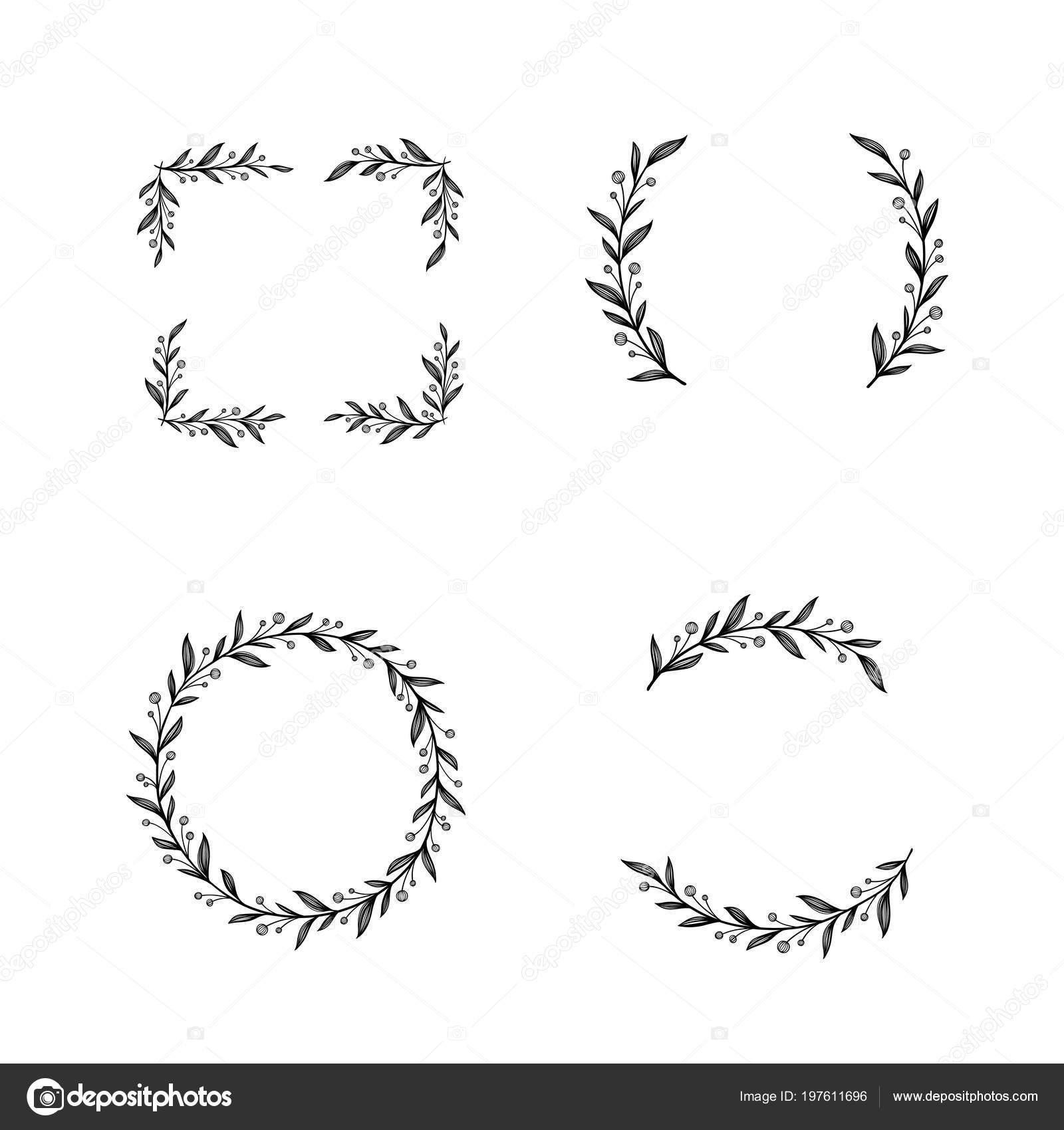 Cornice Floreale Corona Di Fiori Decorazioni Uniche Per