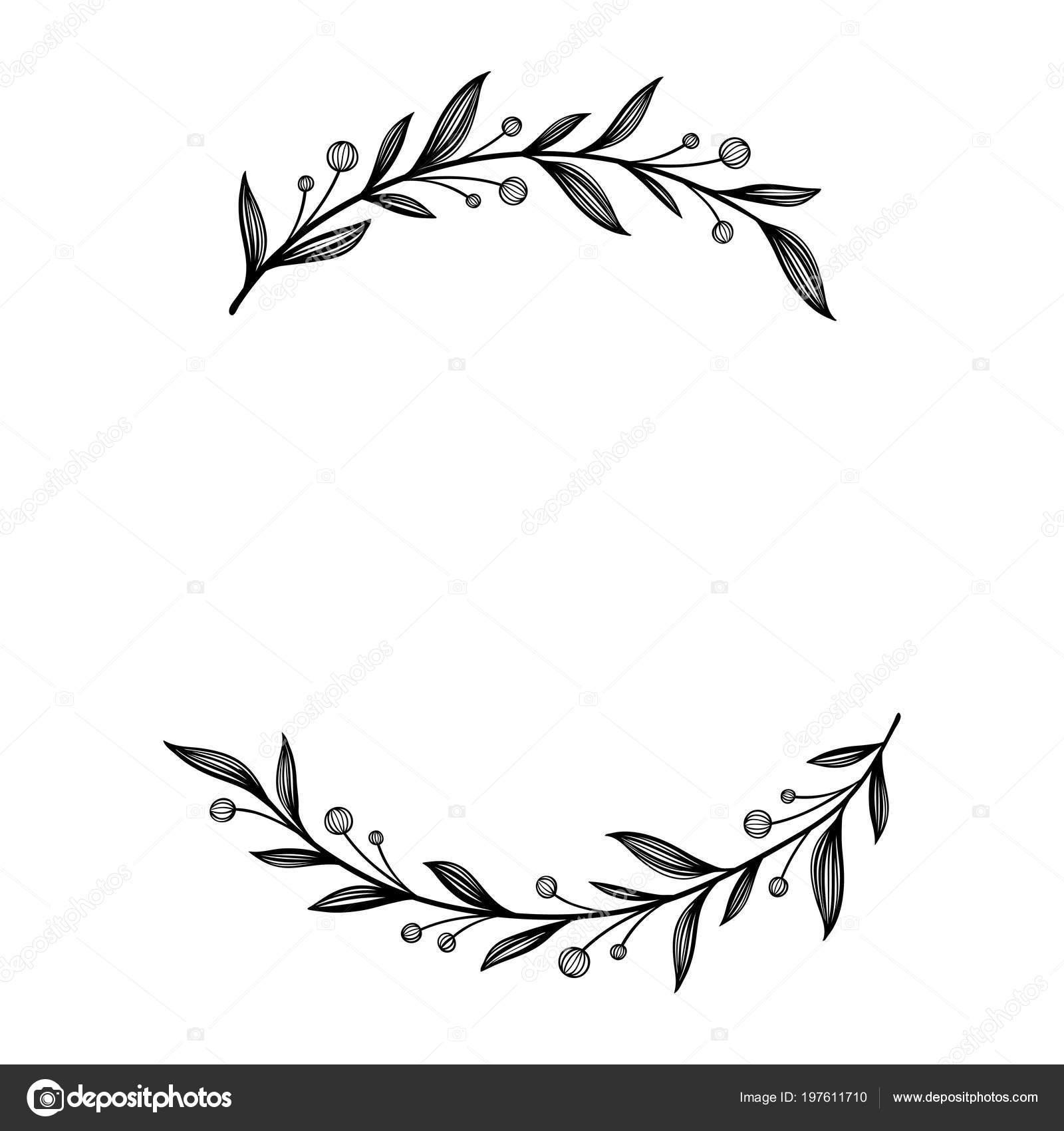 Auguri Il Vostro Matrimonio : Cornici floreali decorazioni uniche per biglietto di