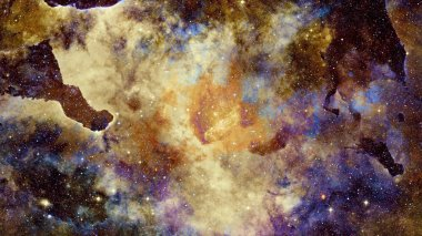 Galaxy and nebula. Cosmic art. Elements of this Image Furnished by NASA