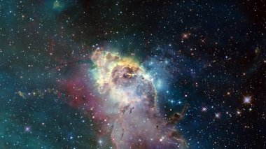 Cosmic art, science fiction, endless deep space. Elements of this image furnished by NASA