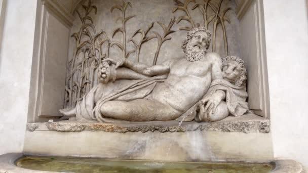 ROME, ITALY - CIRCA May 2018: Four Fountains in Rome, Italy. Roman architecture - Quattro Fontane