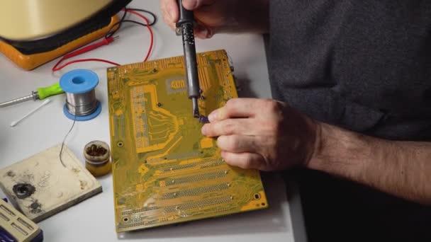 technikusi elektronikus forrasztási és javítási számítógépes chip