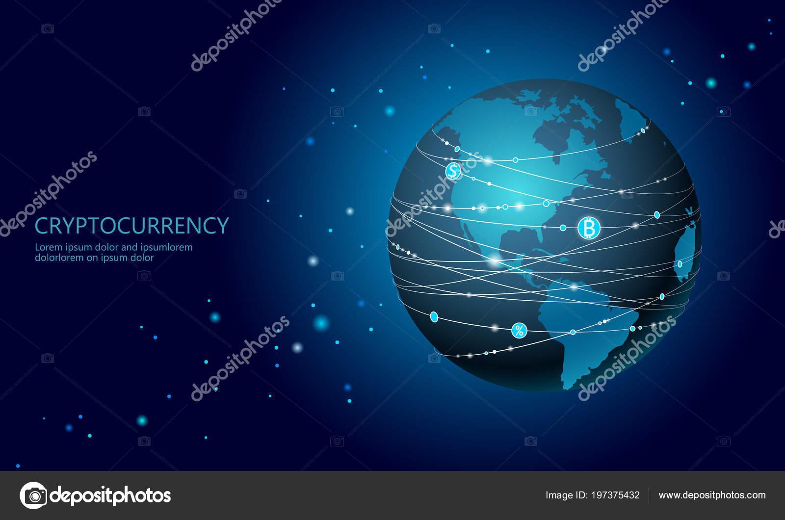 Carte Bitcoin Canada.Planete Terre Cryptocurrency Bitcoin Signe Extraction De La