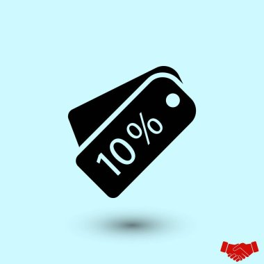 price tag icon.vector, flat design best vector icon