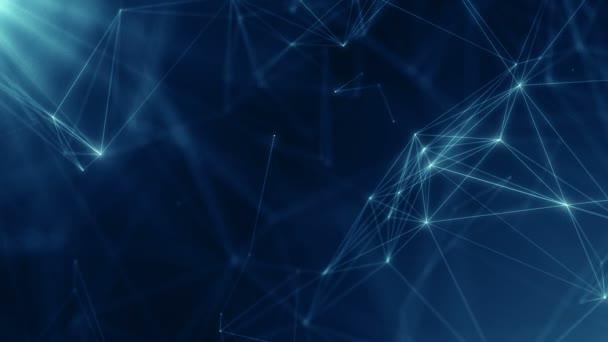 Plexus abstraktní síť business technologie věda pozadí smyčka