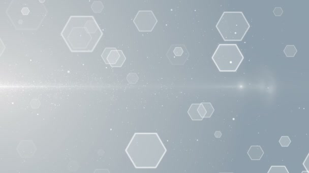 Partikel weiß Geschäft sauber hell glitzern Bokeh Staub abstrakte Hintergrund Schleife
