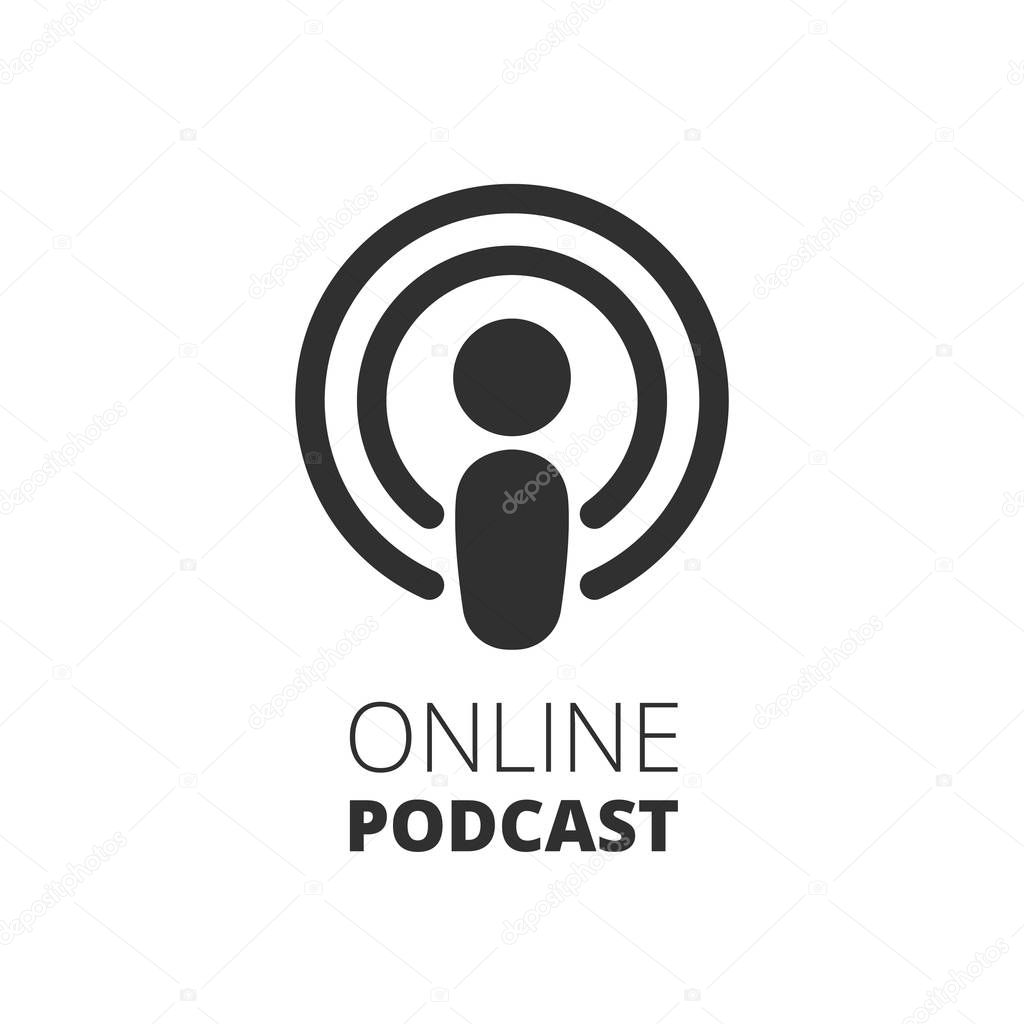 Podcast Icon Online Podcast Illustration Vector Illustration Premium Vector In Adobe Illustrator Ai Ai Format Encapsulated Postscript Eps Eps Format The world's most popular and easiest to use icon set just got an upgrade. podcast icon online podcast