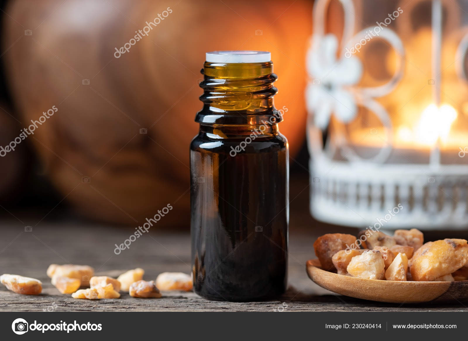 Styrax Benzoin Essential Oil Resin — Stock Photo