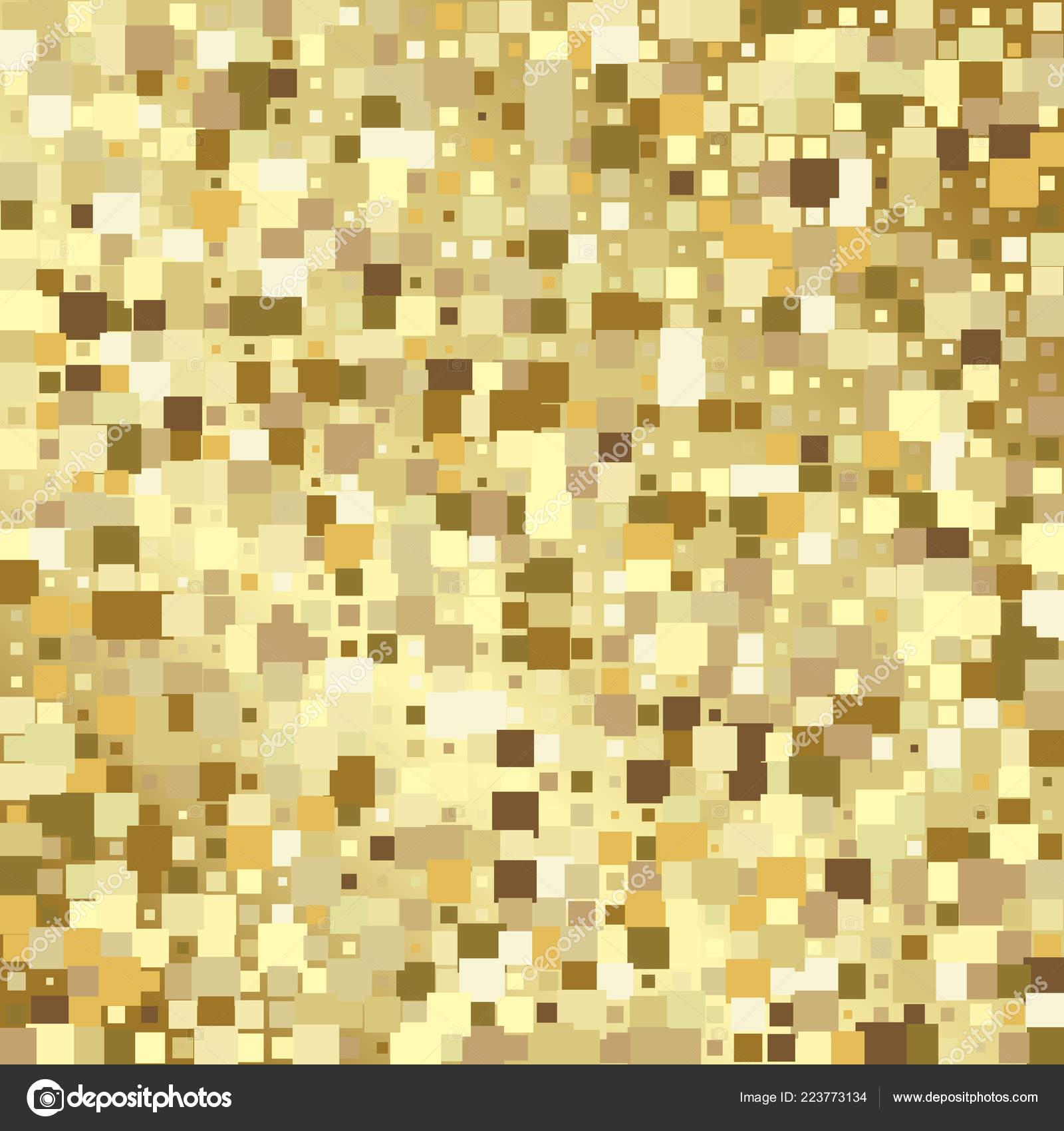 Luxus Gold Mosaik Hintergrund Oder Golden Square Fliesen Textur