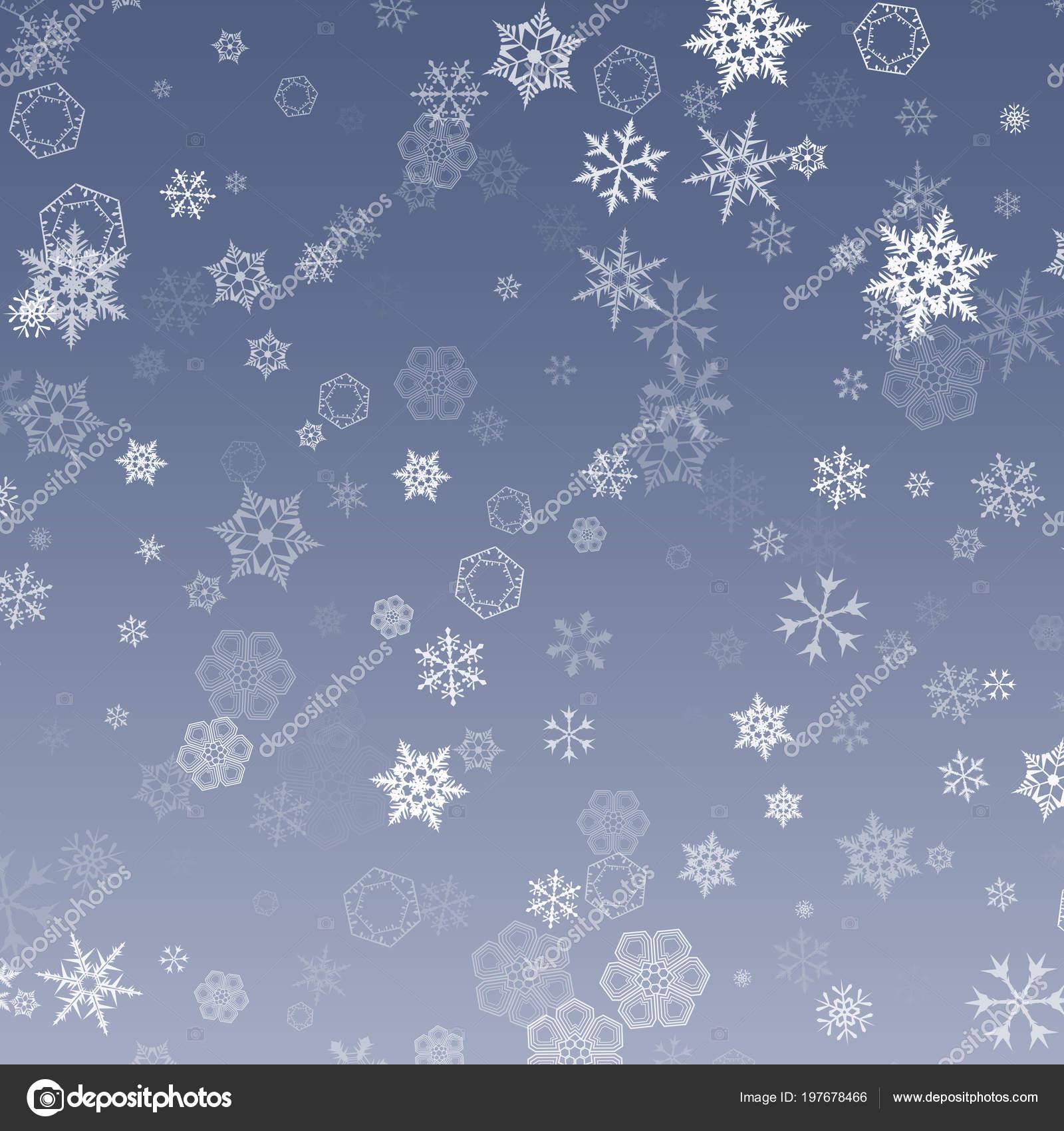 Immagini Sfondi Neve Disegno Neve Che Cade Fiocco Neve