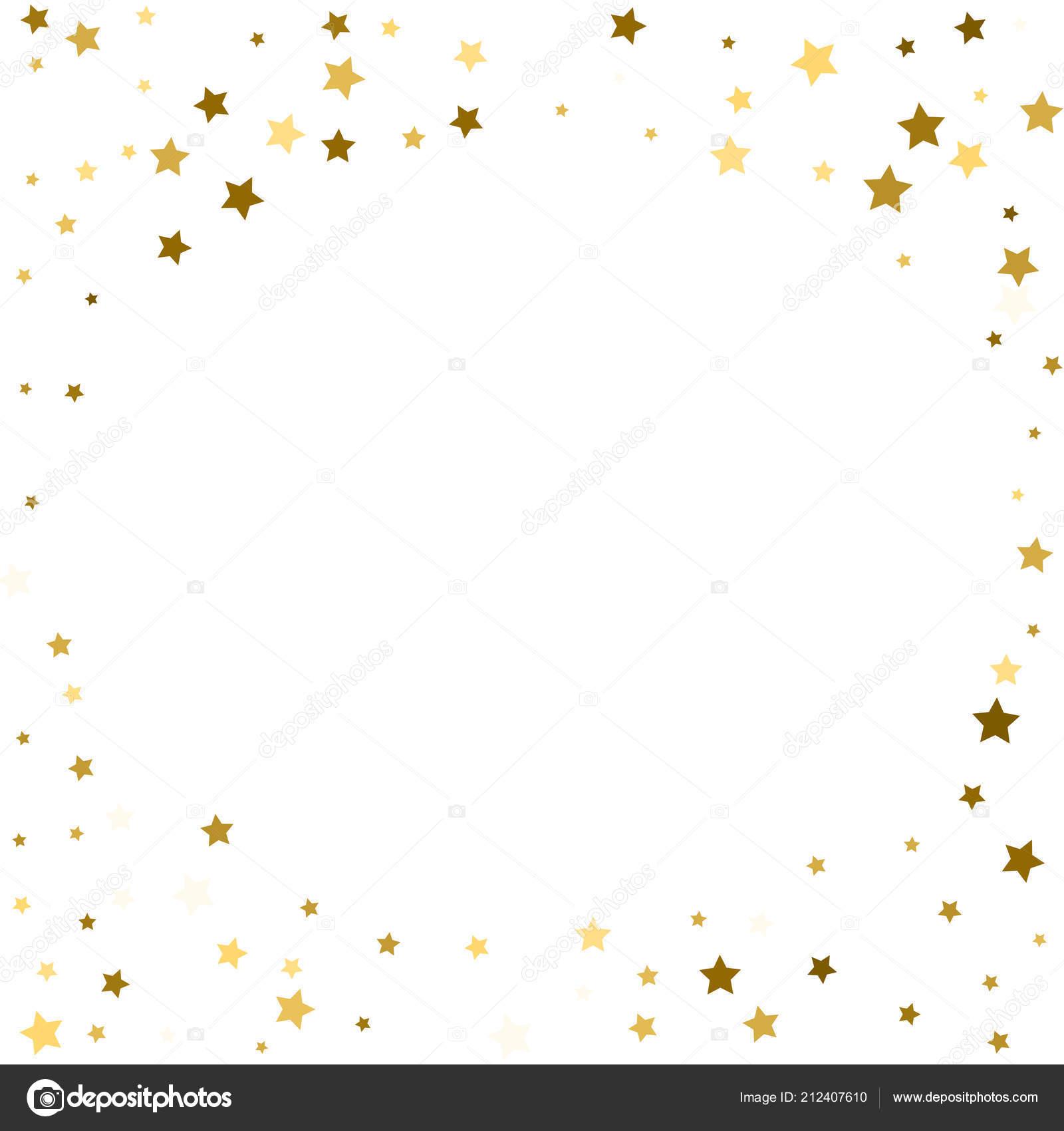 Abstract Vector Autour Fond Avec Des éléments étoiles Cercle