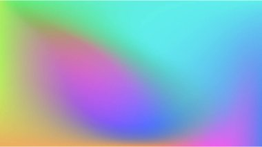 Abstract gradient  colorful  background.
