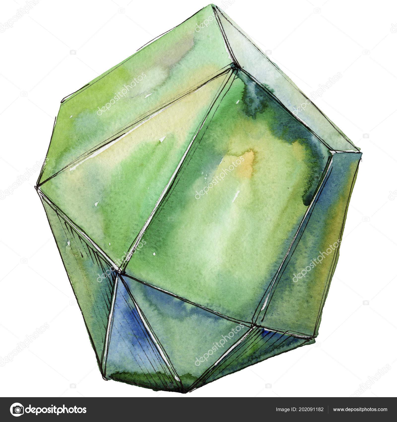 9dacd7a98 Zöld gyémánt rock ékszerek ásványi. — Stock Fotó © MyStocks #202091182