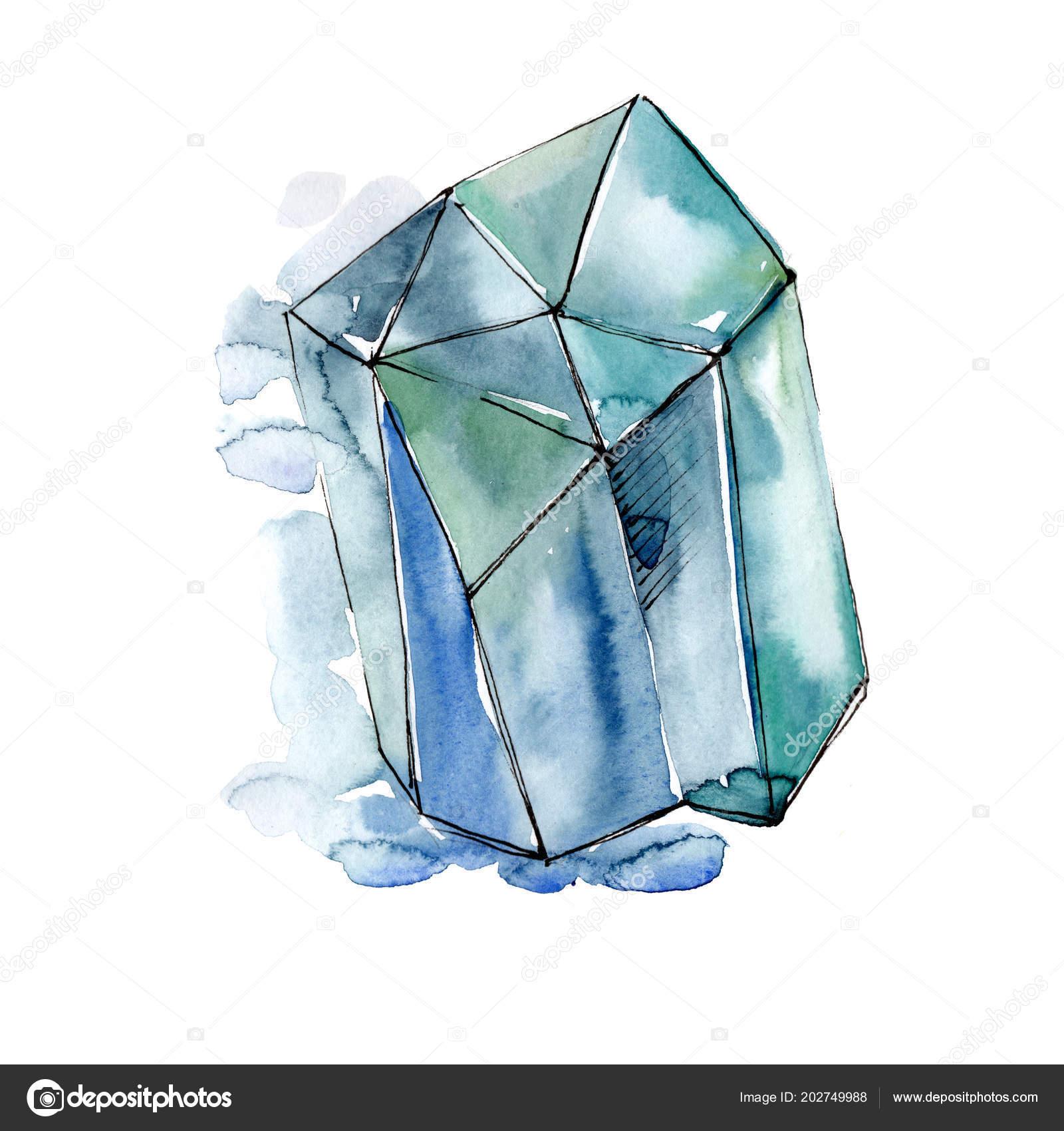 0e7016410 Kék gyémánt rock ékszerek ásványi. — Stock Fotó © MyStocks #202749988