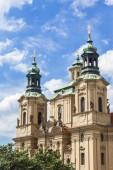 Kostel svatého Mikuláše v Praze. Kostel svatého Mikuláše Staroměstském náměstí. Architektura starého města pražského