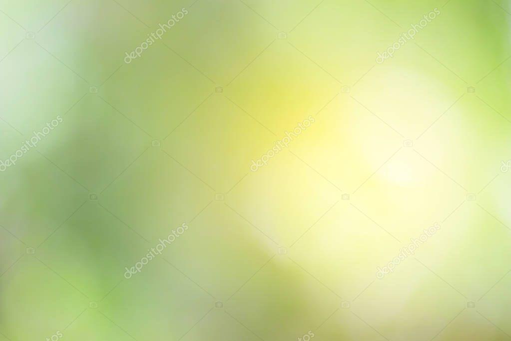 Blurred of Green natural background for design.