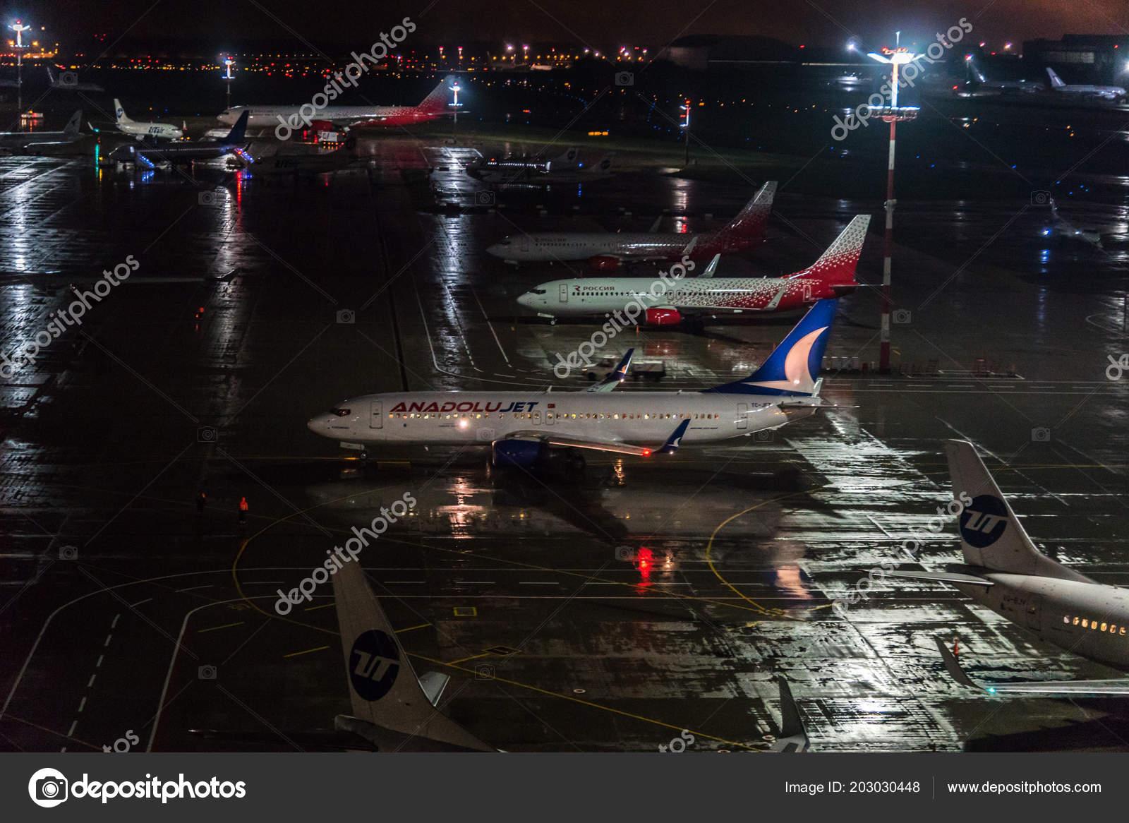 Обои ночь, Boeing 737, Самолёт, b737, tuifly, aircraft. Авиация foto 9