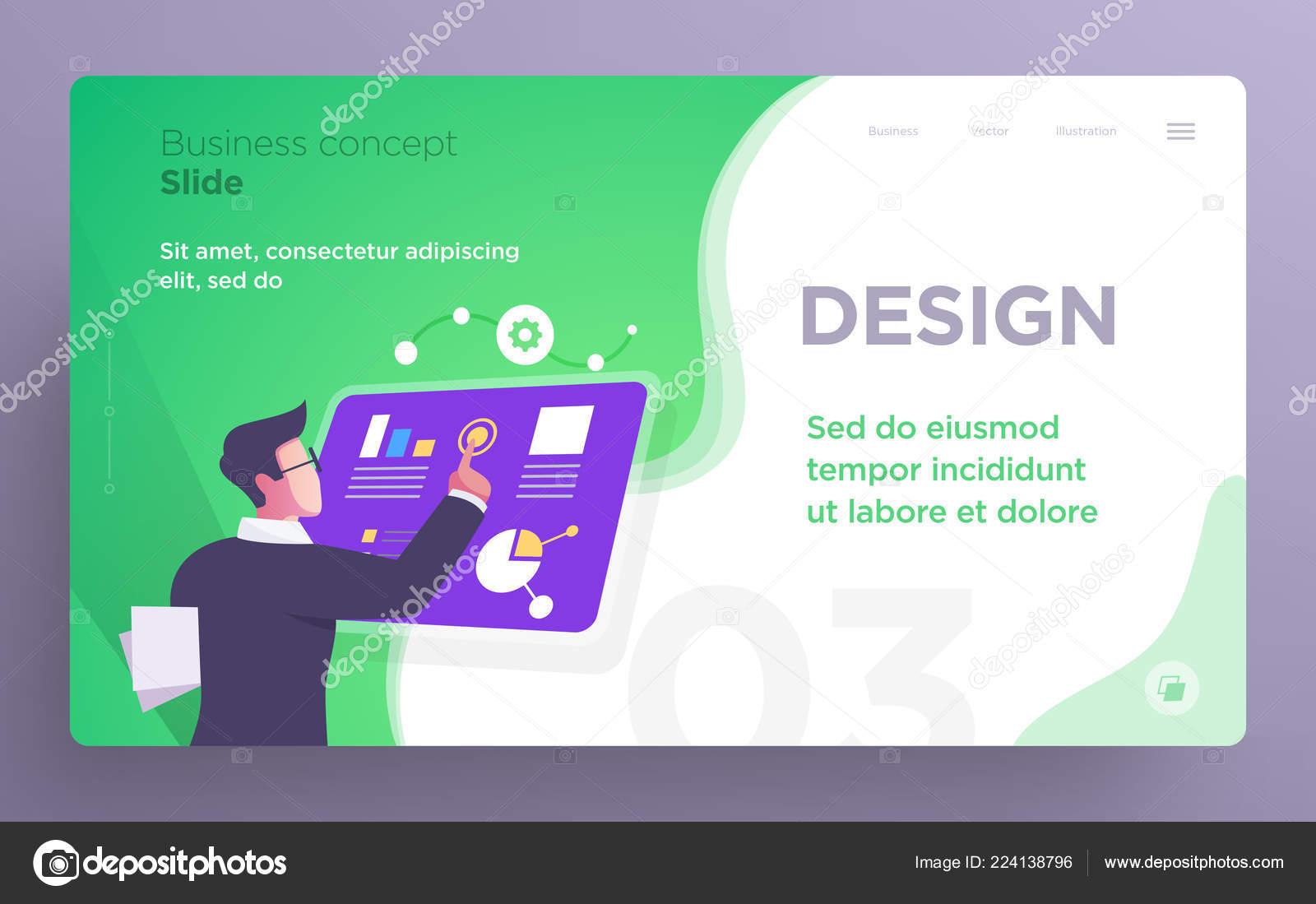 presentation slide templates hero banner images websites apps