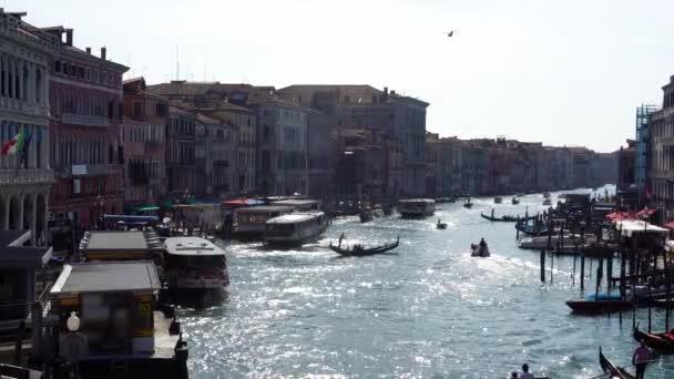 Olaszország. Velence. Kilátás nyílik a Grand Canal