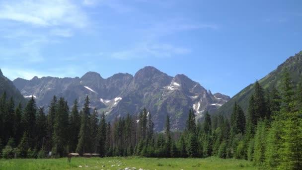 Tatra hory za slunečného dne