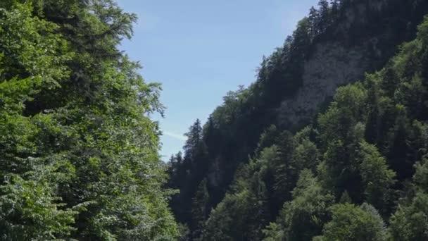 pohled říční dopravy na pohoří Tatra
