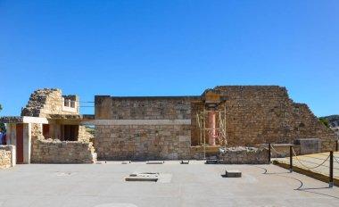 """Картина, постер, плакат, фотообои """"Кносский дворец и музей Минотавра в Крит, Греция"""", артикул 233057992"""