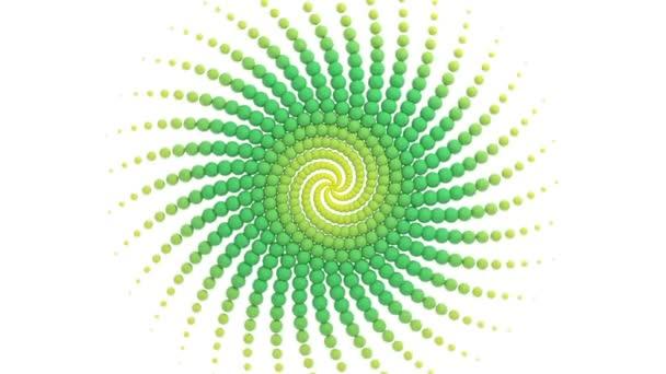 Fractal spheres background