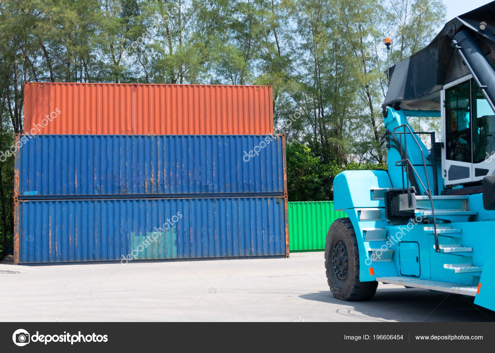 Container Shipping Logistic Import Export Business