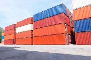 Container shipping for Logistic Import Export business and Industrial .