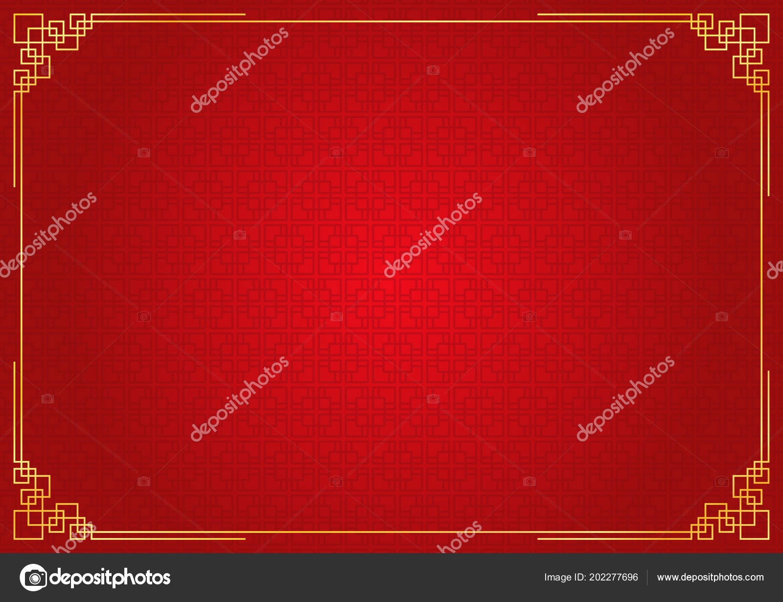 chinese new year background abstract oriental wallpaper red square window stock vector
