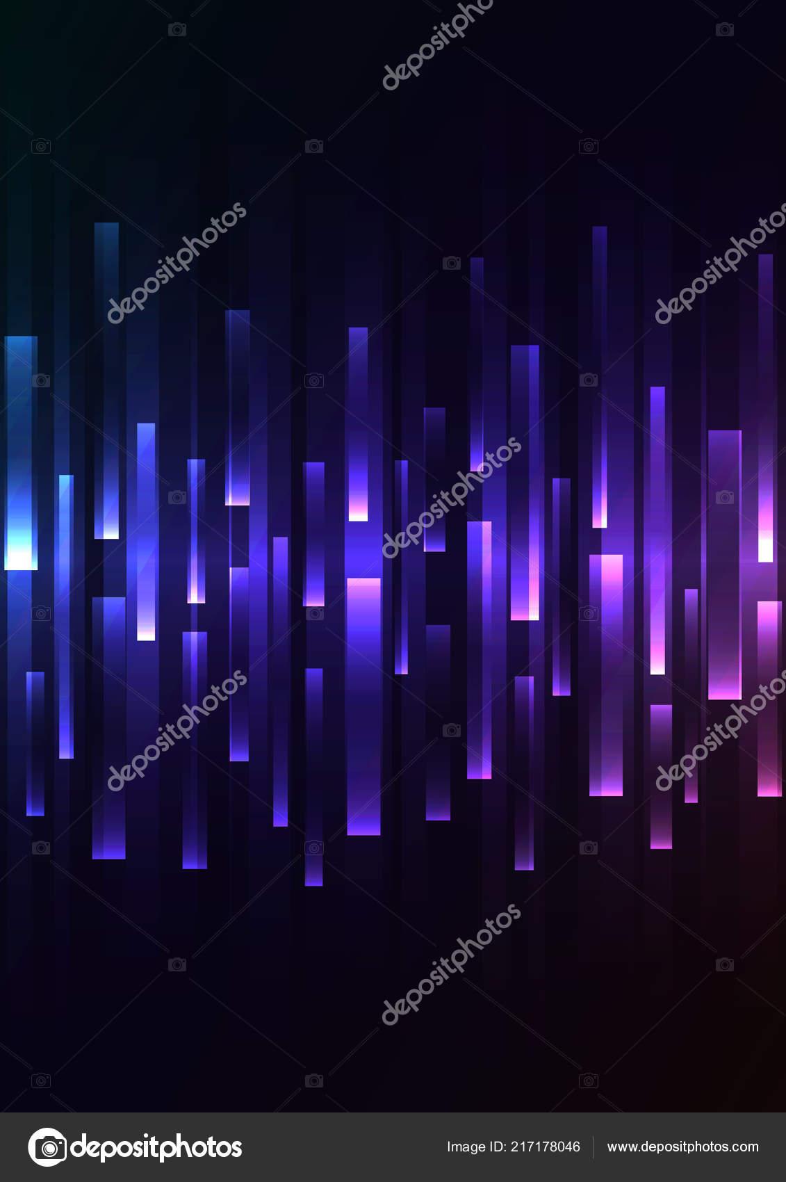 Arc Ciel Sombre Chevauchement Pixel Vitesse Fond Sombre